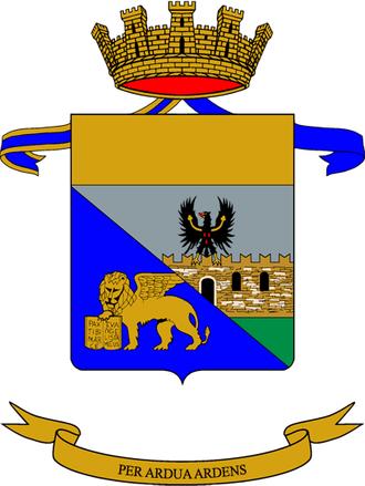 2nd Alpine Artillery Regiment - Coat of Arms of the 2nd Alpine Artillery Regiment