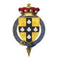 Coat of Arms of Sir Jean III de Grailly, Captal de Buch, KG.png