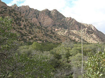 Cochise Stronghold, Dragoon Mountains, southeastern Arizona. CochiseStronghold.JPG
