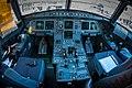 Cockpit door lock toggle switch Airbus A319-100 D-AKNM Germanwings.jpg