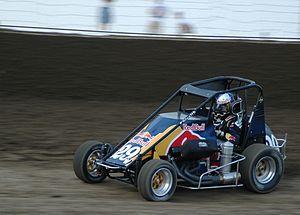 Cole Whitt - Whitt's 2007 midget car