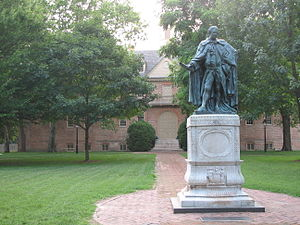 Deutsch: College of William and Mary in Willia...