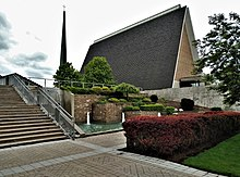 Concordia Theological Seminary - Chapel and Waterfall.jpg