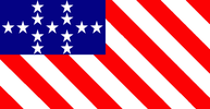 John G. Gaines' First national flag proposal