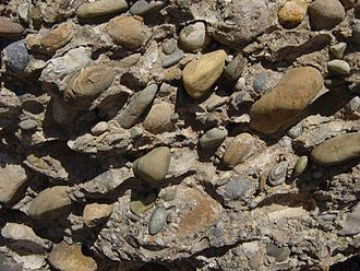 Conglomerate (geology) - Fanglomerate in Death Valley National Park