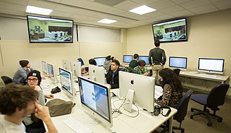 Computer lab - Computer lab on SUNY Purchase campus
