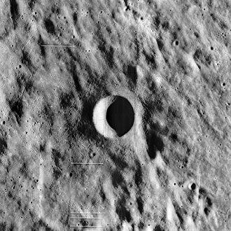 Copernicus (lunar crater) - Image: Copernicus H crater 5148 med