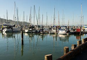Tiburon, California - Corinthian Yacht Club Tiburon