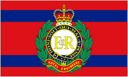 Corps of Royal Engineers Camp Flag