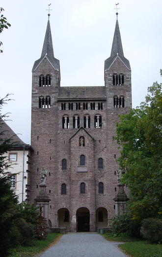 Widukind of Corvey - Corvey Abbey Church, westwork
