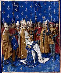 Le sacre de Charles VI