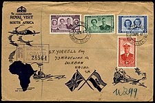 Cover Bechuanaland Protectorate 1947 Royal Visit.jpg
