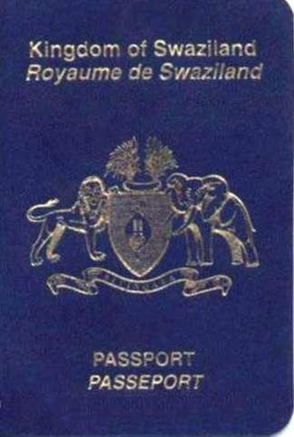 Swazi passport - Image: Cover of Swazi Passport