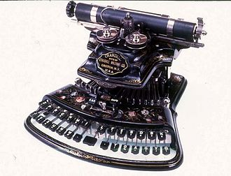 Lucien Stephen Crandall - Crandall New Model typewriter, 1880s, USA