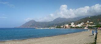 Plakias - Plakias beach