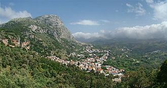 Spili - View of Spili