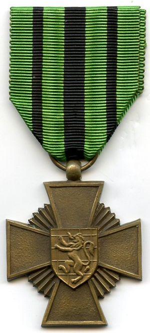 Escapees' Cross 1940–1945 - Image: Croix des évadés
