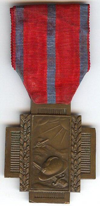Fire Cross 1914–1918 - Image: Croix du Feu