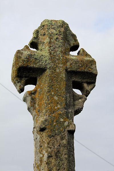 Croix du chemin de Coëtcandec: détail face est