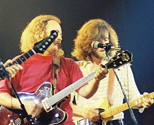 Crosby & Nash - Crosby and Nash in concert in 1974