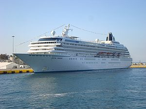 Crystal Cruises - Image: Crystal Symphony 1