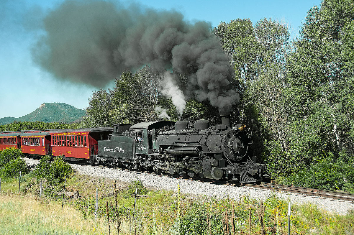 Scenic Train Travel In Canada