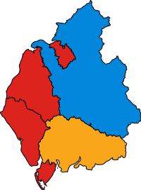 CumbriaParliamentaryConstituency2005Results.svg