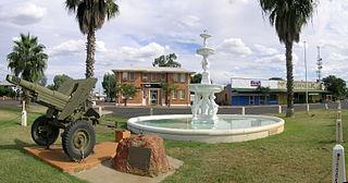 Cunnamulla Town in Queensland, Australia