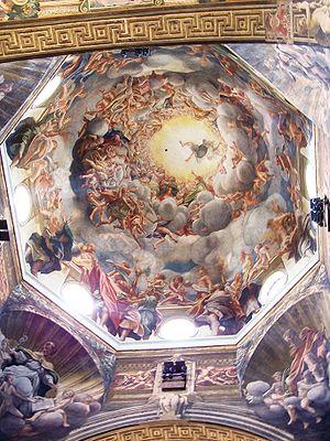 1530 in art - Image: Cupola Duomo Parma Correggio