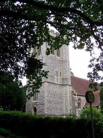 Curdridge - Image: Curdridge Church geograph.org.uk 31744