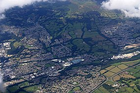 Cwmbran from the air - geograph.org.uk - 1457054.jpg