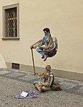 Czech-2013-Prague-Street performers (crop).jpg