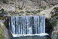 Czerniawa Zdrój - 'wodospad' na Czarnym Potoku - woda latem 12 stopni C - panoramio.jpg