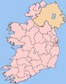 Dáil Éireann constituencies circa May 2007.png