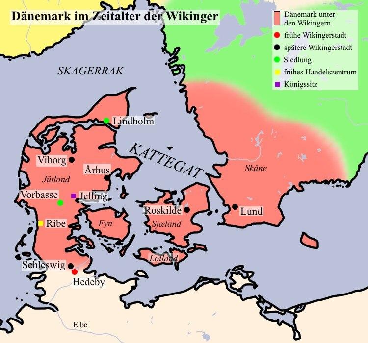 Dänemark Wikingerzeit