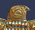 Détail dun bijou de la tombe de Toutânkhamon (musée du Caire Egypte) (1815590360).jpg