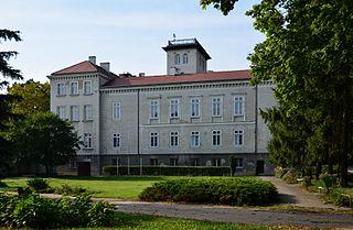 Dębowa Łąka Village in Kuyavian-Pomeranian, Poland