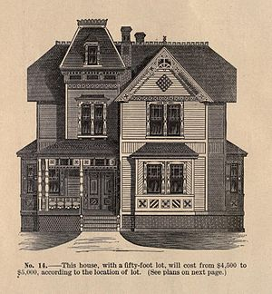 Morgan Park, Chicago - Image from the booklet Suburban Homes – Morgan Park by the Blue Island Land and Building Company, 1886