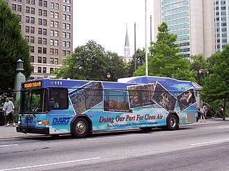 Gillig Low Floor -  A Gillig Low Floor hybrid.