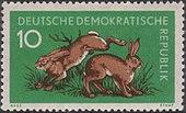 DDR 1959 Michel 738 Hasen.JPG