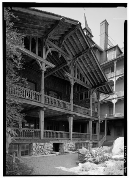 File detail view showing ornate wooden construction of for Mountain house media