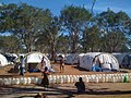 DFID-funded, UNHCR emergency shelter tents, in the IDP camp at Menik Farm, Sri Lanka (3694081492).jpg