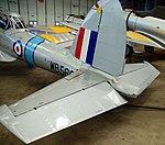 DHC.1 Cipmunk tail detail, Imperial War Museum, Duxford, May 19th 2018. (46275444194).jpg