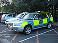 DOCTORs vehicle at West Suffolk hospital 013.jpg