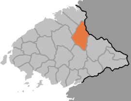 Location of Tongch'ang County