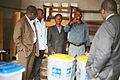 DSRSG Sarassoro Dir DE MONUSCO M. Bile et le Dir adjoint de la DE a NYHQ Ali visitent un bureau de vote (6477026569).jpg