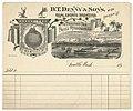 DT Denny & Sons receipt, 1890 (MOHAI 11892).jpg