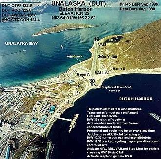 Unalaska Airport - Image: DUT a