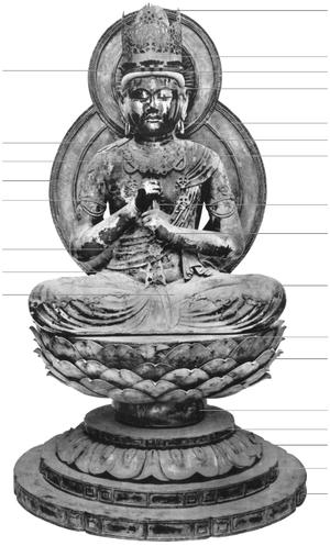 Dainichi Nyorai (Enjō-ji) - Image: Dainichi Nyorai Unkei Enjoji 1 3
