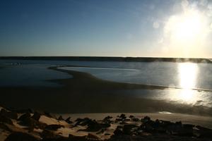 Atlantic coastal desert - The desert in Dakhla, Western Sahara